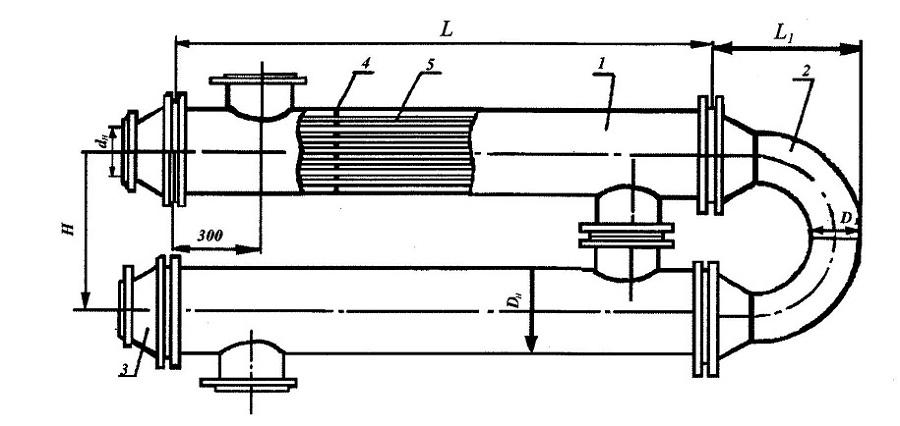 схема водоводяного подогревателя
